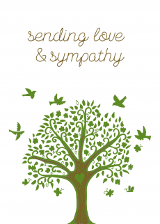 sending love and sympathy