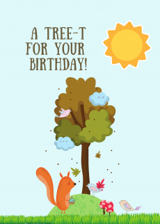 a-treet-for your birthday
