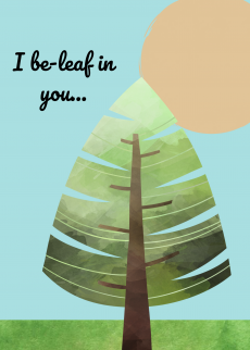 beleaf in you