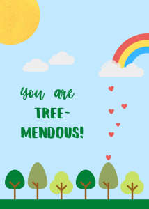 Treemendous Tree Card