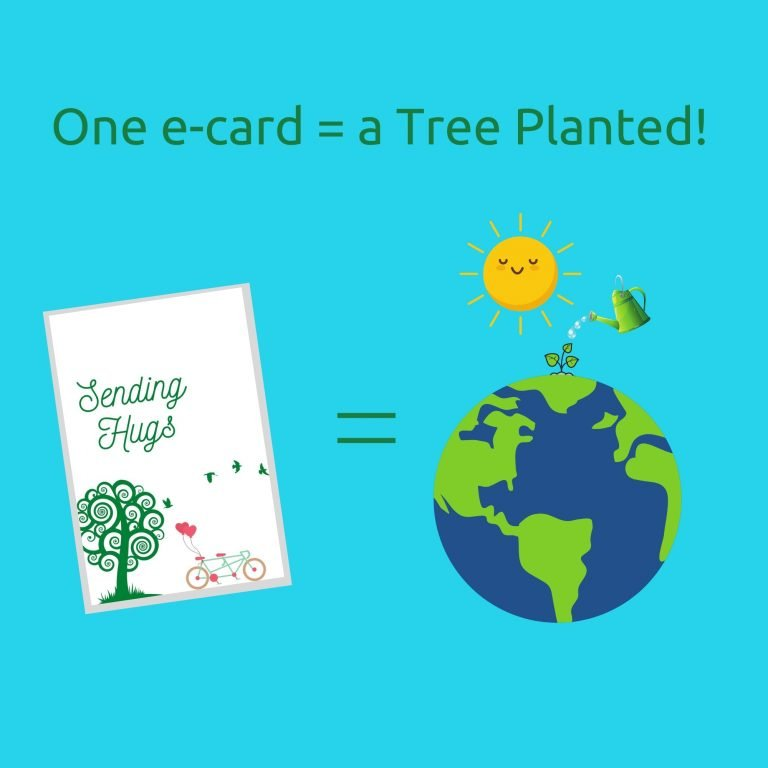 ONE CARD PLANTS A TREE